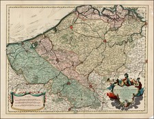 Map By Johannes Covens / Pieter Mortier