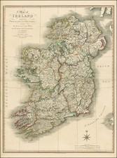 Ireland Map By William Faden