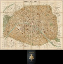 France Map By Hachette & Co.