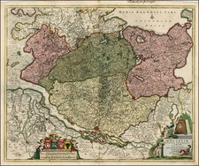 Germany Map By Frederick De Wit