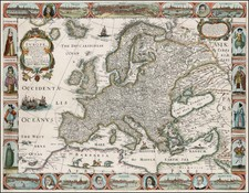 Europe Map By John Overton