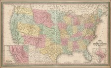 United States Map By Thomas, Cowperthwait & Co.