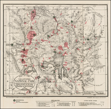 Rocky Mountains Map By United States GPO