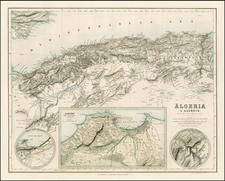 North Africa Map By Archibald Fullarton & Co.