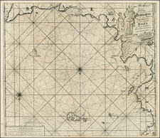 Mediterranean, Balearic Islands, North Africa and African Islands, including Madagascar Map By Johannes Van Keulen