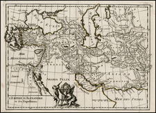 Europe, Turkey, Asia, Central Asia & Caucasus and Turkey & Asia Minor Map By George Louis Le Rouge