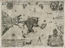 Italy, Southern Italy and Other Italian Cities Map By Nicolas Van Aelst