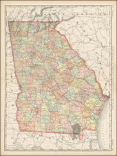 Southeast Map By Rand McNally & Company