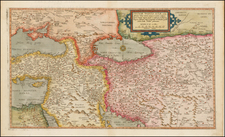 Ukraine, Mediterranean, Central Asia & Caucasus, Middle East, Holy Land, Turkey & Asia Minor, Russia in Asia and Balearic Islands Map By Cornelis de Jode