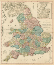 British Isles Map By William Faden