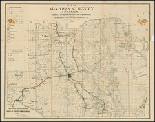 Florida Map By Matthews-Northrup & Co.