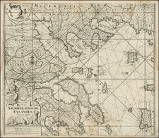 Balkans, Greece and Balearic Islands Map By Johannes Van Keulen