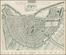 Netherlands Map By SDUK