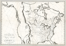 Southwest, Rocky Mountains, North America and California Map By Victor George Henri Collot