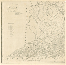 West Virginia, Southeast, Virginia and Midwest Map By Frederick Bossler