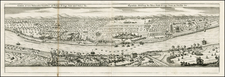 Italy and Other Italian Cities Map By Matthaus Merian