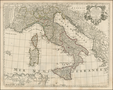 Italy Map By Jean-Claude Dezauche