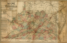Mid-Atlantic and Southeast Map By J.T. Lloyd / Wynkoop & Hallenbeck