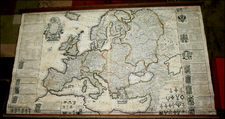 Europe and Europe Map By Henry Overton