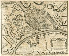 Netherlands Map By Paul de Rapin de Thoyras
