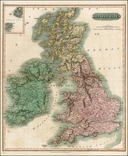 British Isles Map By John Thomson