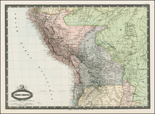 South America Map By F.A. Garnier