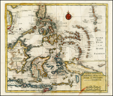 Southeast Asia and Philippines Map By Giambattista Albrizzi