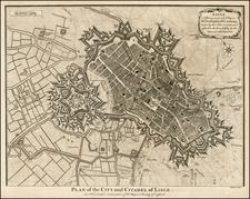 France Map By Paul de Rapin de Thoyras