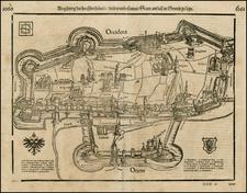 Germany Map By Sebastian Munster