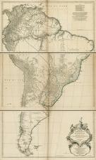 South America Map By Jean-Baptiste Bourguignon d'Anville
