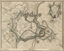 Map By Paul de Rapin de Thoyras