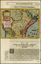 Africa, Africa, East Africa and West Africa Map By Jodocus Hondius / Samuel Purchas