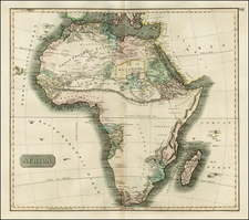 Africa and Africa Map By John Thomson
