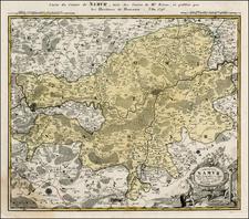 Map By Homann Heirs