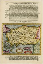 Greece, Turkey, Balearic Islands and Turkey & Asia Minor Map By Jodocus Hondius / Samuel Purchas