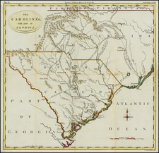 Southeast Map By William Gordon