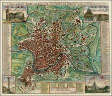 Italy Map By John Senex / John Harris