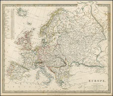 Europe Map By SDUK