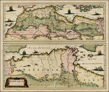 Mediterranean, North Africa and Balearic Islands Map By Christopher Browne