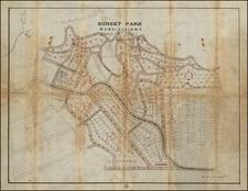 North Carolina Map By Gwyn & West