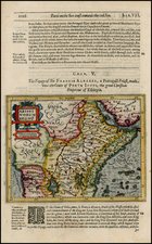 Africa, East Africa and West Africa Map By Jodocus Hondius / Samuel Purchas