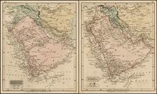Middle East Map By John Arrowsmith