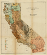California Map By United States Department of the Interior