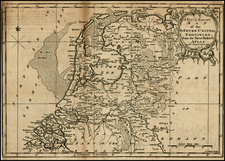Netherlands Map By John Gibson
