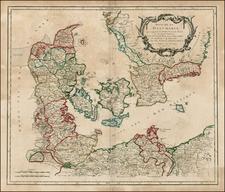 Scandinavia Map By Gilles Robert de Vaugondy