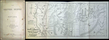 Southwest, Rocky Mountains and California Map By E. W. Perry