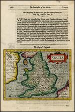 British Isles Map By Jodocus Hondius / Samuel Purchas