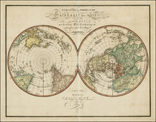 World, World, Northern Hemisphere, Southern Hemisphere and Polar Maps Map By Weimar Geographische Institut