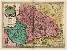 France Map By Willem Janszoon Blaeu