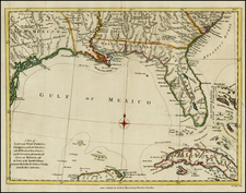 Florida, South, Southeast and Caribbean Map By John Lodge